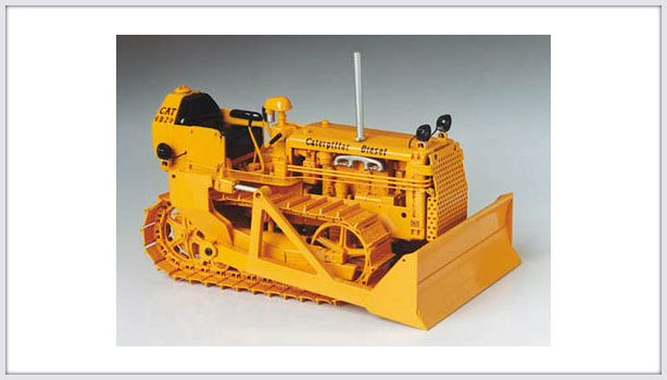 Caterpillar D2 with blade