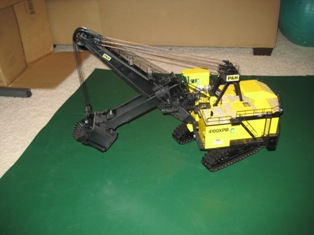 OHS P&H 4100XPB mining shovel 1/50th