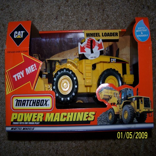 Matchbox Caterpillar wheel loader