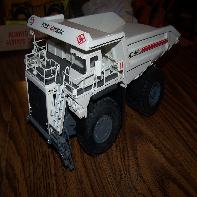 OHS MT4400 terex unit rig quarry truck